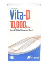 Synergy Vitamin D 10000IU, 30 Tablets