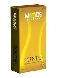 Moods Scented Condom, 12 Pieces