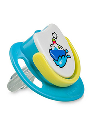 Pigeon Anti-Colic Silicone Step-3 Pacifier, 8+ Months, Ship, Blue