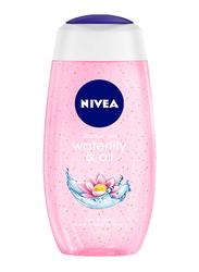 Nivea Water Lily & Oil Body Wash Shower Gel for Women, 250ml