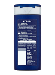 Nivea Men Energy Shower Gel with Mint Extracts, 250ml