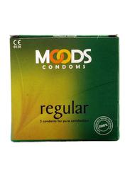 Moods Regular Condom, 3 Pieces