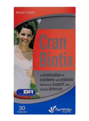 Synergy Cran Biotix Speciality Supplements, 30 Capsules