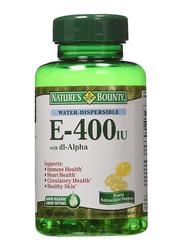 Nature's Bounty Vitamin E Supplement, 400iu, 100 Softgels