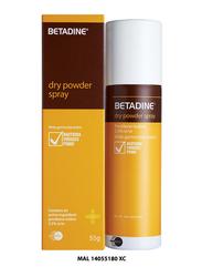 Betadine Dry Powder Spray, 55 grams
