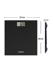 Omron HN289 Automatic Personal Digital Weight Scale, Black