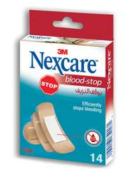 3M Nexcare Blood Stop Assorted Bandages, 14 Pieces