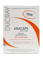 Ducray Anacaps Concentrate, 60 Capsules