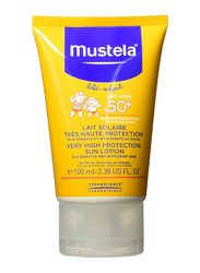 Mustela 100ml Very High Protection SPF 50+ Sun Lotion for Babies