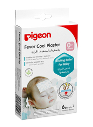 Pigeon B090 6-Pieces Fever Cool Plaster Set for Babies