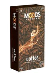 Moods Coffee Condom, 12 Pieces