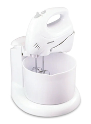 Kenwood Hand Mixer with Mixing Bowl, 250W, HM430, White