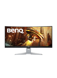BenQ 35 Inch Curved HDR LED Gaming Monitor, EX3501R, Grey