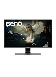 BenQ 31.5 Inch 4K UHD HDR LED Gaming Monitor, EW3270U, Black
