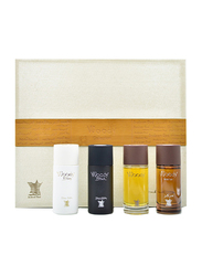 Arabian Oud 4-Piece Woody Collection Perfume Set Unisex, Blanc (White) 50ml EDP, Black 50ml EDP, Intense 50ml EDP, Wooden 50ml EDP