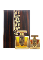 Arabian Oud 2-Piece Royal Oud Luxury Perfume Set Unisex, 100ml EDP, 12ml EDP