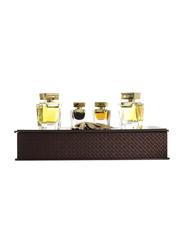 Arabian Oud 6-Piece Dokhoon Collection Gift Set Unisex, 2 x Spray Vial, 2 x Combodian Oil, Asala, 60gm Oud