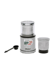 Nobel Coffee Grinder, 200W, NB805, Silver/Black/Clear