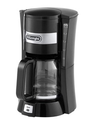 Delonghi Filter Drip Coffee Machine, 900W, ICM15211, Black