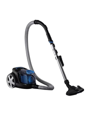 Philips PowerPro Compact Bagless Canister Vacuum Cleaner, 1800W, FC9350, Black