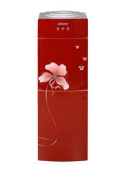 Nobel Top Load Hot & Cold Water Dispenser, 16-20 L, with Refrigerator Cabinet, NWD2200G, Red