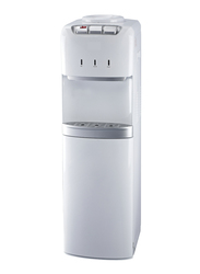 Nobel Top Load Hot & Cold Water Dispenser, with Refrigerator Cabinet, NWD1600, White