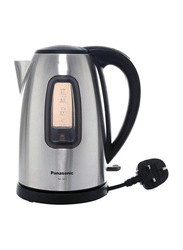 Panasonic 1.6L Stainless Steel Kettles, 2200W, NCSK1B, Silver