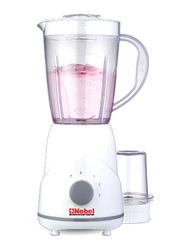 Nobel 1.2L 2-in-1 Mini Kitchen Machine Blender, 300W, NB101, White