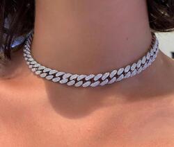 Wazna Jewellery Gold Diamond Studded Choker Necklace