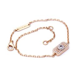 Wazna Jewellery Strength Of Spirit 18K Diamond Studded Gold Bracelet