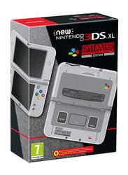 Nintendo SNES Edition Nintendo 3DS XL Handheld Console, (PAL Region No US Region), Grey
