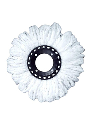 Home Pro Spin Mop Head Refill, 2473, White
