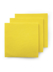 Mery Multipurpose Cleaning Cloth, Yellow, 38 x 40cm, 3 Pieces