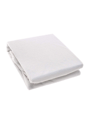 Home Pro Waterproof Terry Mattress Protector, 180 x 200cm, White
