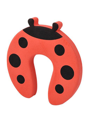 Home Pro Ad+ Baby Safety EVA Door Stopper, 2 Pieces, Red