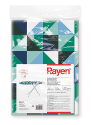 Rayen Ironing Board Cover with Clip-On, 130 x 47cm, Multicolor