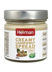 Herman Creamy Cashewnut Spread, 200g