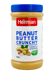 Herman Peanut Butter Crunchy Spread, 510g