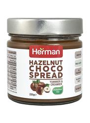 Herman Creamy Hazelnut Choco Spread, 220g