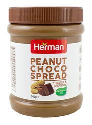 Herman Peanut Choco Spread, 340g