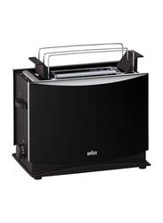 Braun MultiQuick 3 2-Slice Toaster, 1000W, HT 450, Black