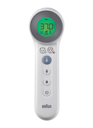 Braun No Touch + Touch Thermometer, BNT400, White