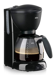 Braun Pure Aroma Plus Coffee Maker, 1100W, KF 560/1, Black