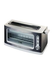 Ariete Look & Toast Toaster, 900W, 111, Silver/Black