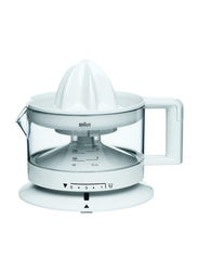 Braun Tribute Collection Citrus Juicer, 20W, CJ 3000, White