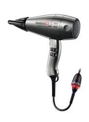 Valera Swiss Silent Jet 8600 Iconic Hair Dryer, Grey/Black