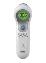 Braun No Touch + Forehead Thermometer, NTF3000, White