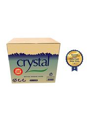 Crystal Low Sodium Bottled Drinking Water, 12 Bottle x 1.5 Liters