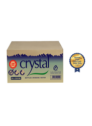 Crystal Low Sodium Bottled Drinking Water, 24 Bottle x 330ml