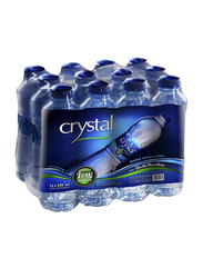 Crystal Low Sodium Bottled Drinking Water, 12 Bottle x 330ml
